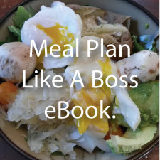 Meal Plan Like A Boss eBook