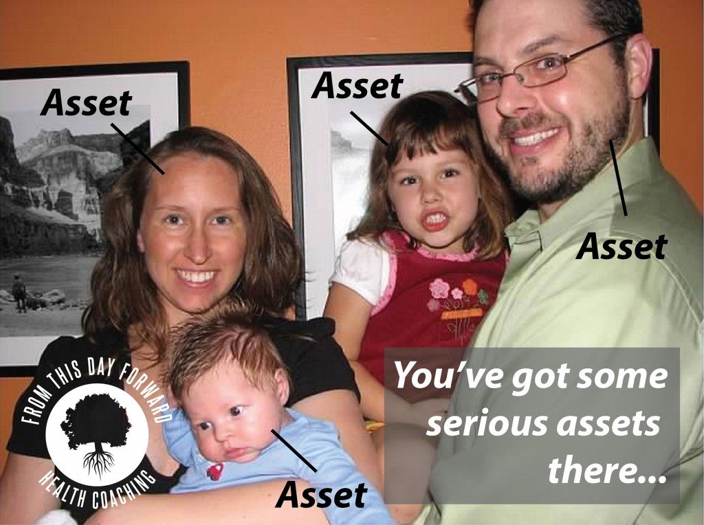You've Got Some Serious Assets There | From This Day Forward Health Coaching